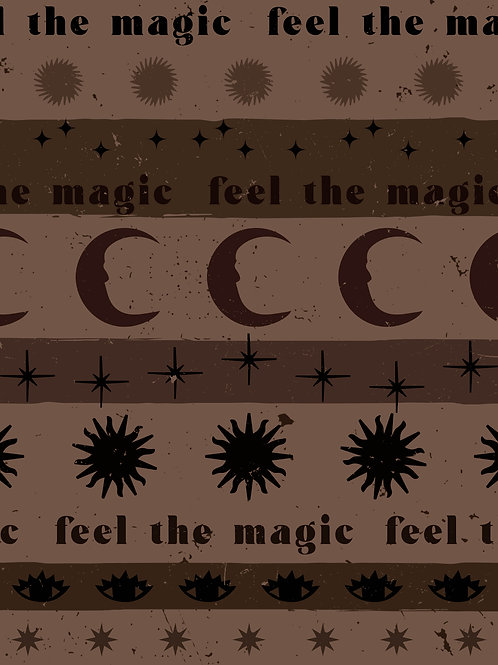 Feel The Magic - Brown