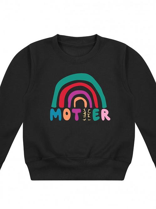Funky Rainbow Mother Crew Neck Jumper