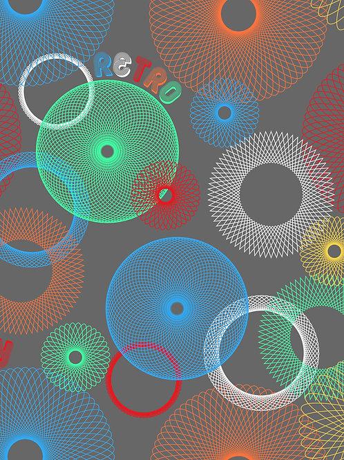 Spirograph - Primary Grey