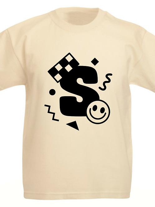 Retro Shapes Monogram T-shirt