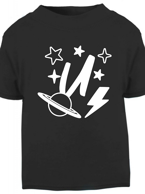 Retro Space Monogram T-shirt