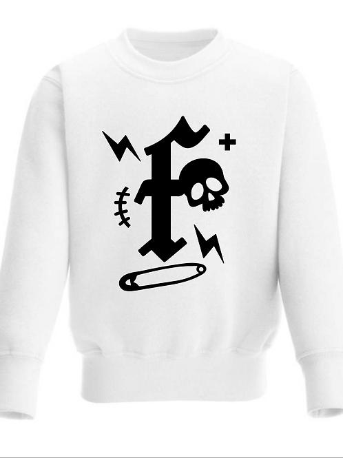 Punk Rock Monogram Sweatshirt