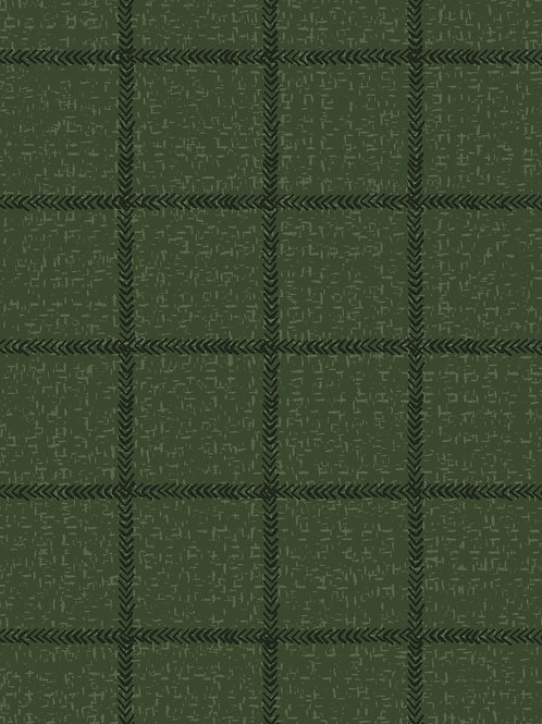 Woven Grid Green