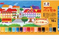 ぺんてる パッセル(クリアラベルまきパス) 16色 GHPAR-16