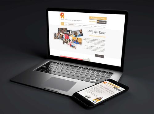 Website vzw Reset