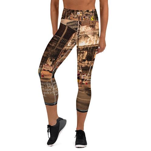 Yoga Capri Leggings Black Frame 1