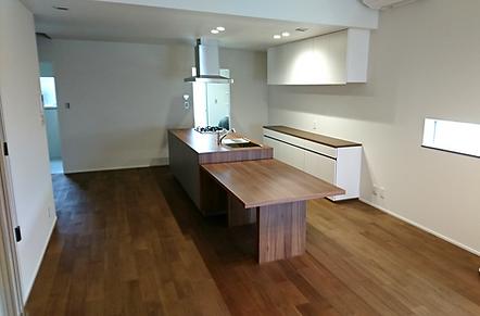 広島注文住宅キッチン