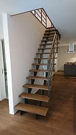 広島注文住宅階段