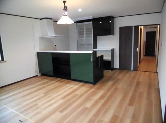 注文住宅新築キッチン1