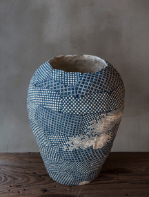 Blue Jar (in the process) by Choi Bo-Ram