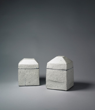 A pair of Buncheong Box