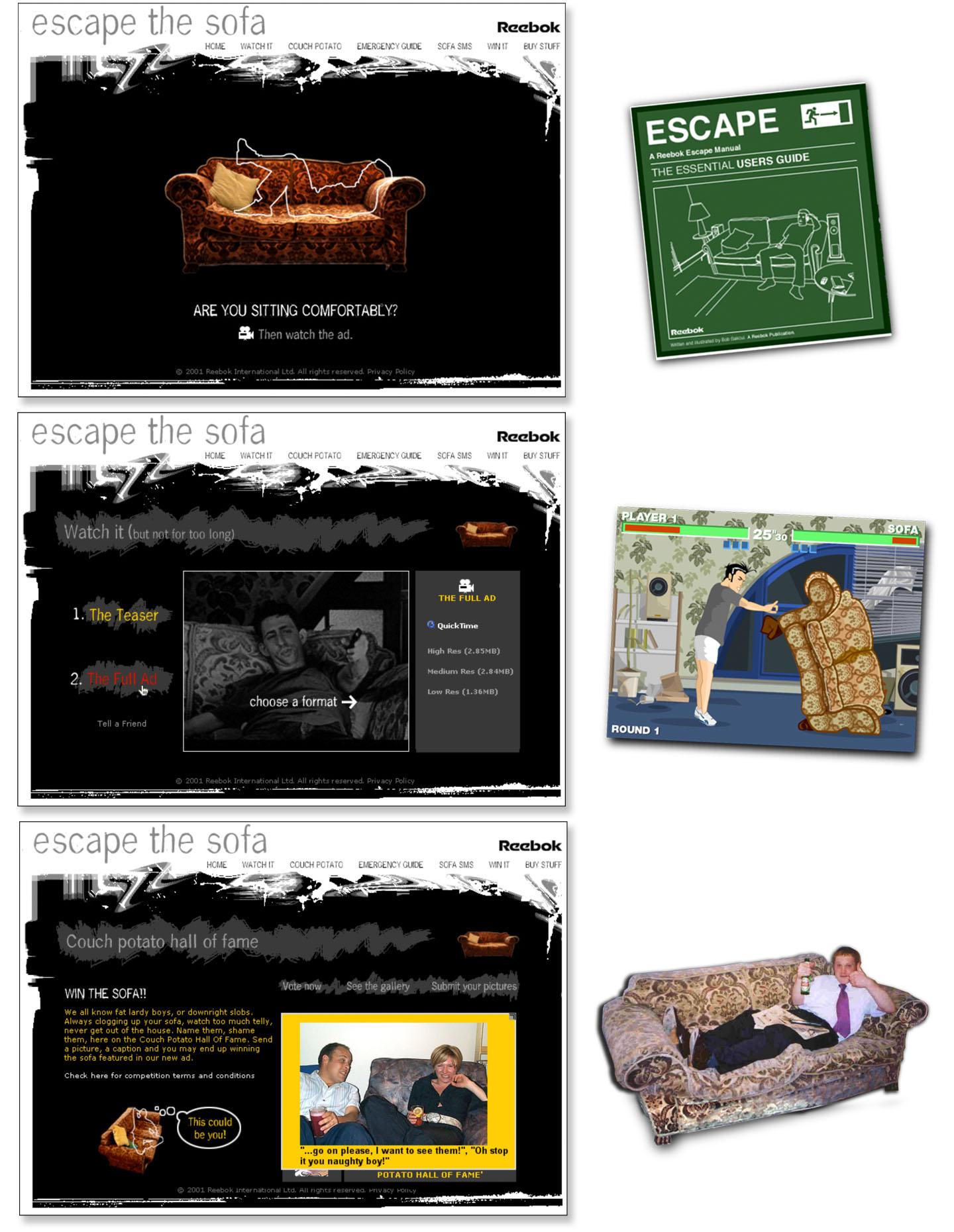 02 - Reebok Sofa Project