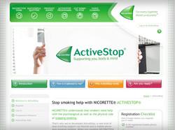 Nicorette ActiveStop