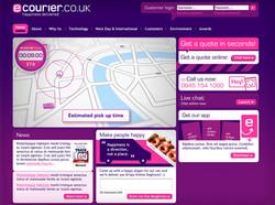 Ecourier website