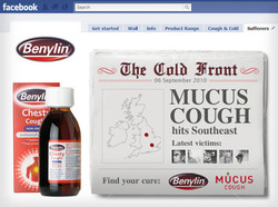 Benylin 'Cold Front' campaign