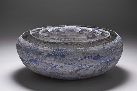Recorded (5 layers of large bowls)
