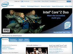 Intel.com redesign