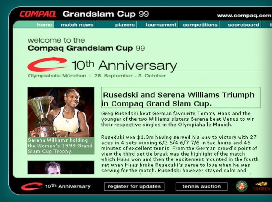 Compaq Grand Slam Cup
