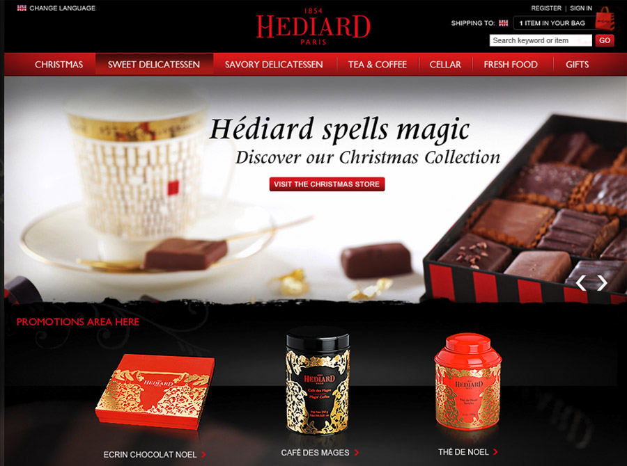 Hédiard E-commerce