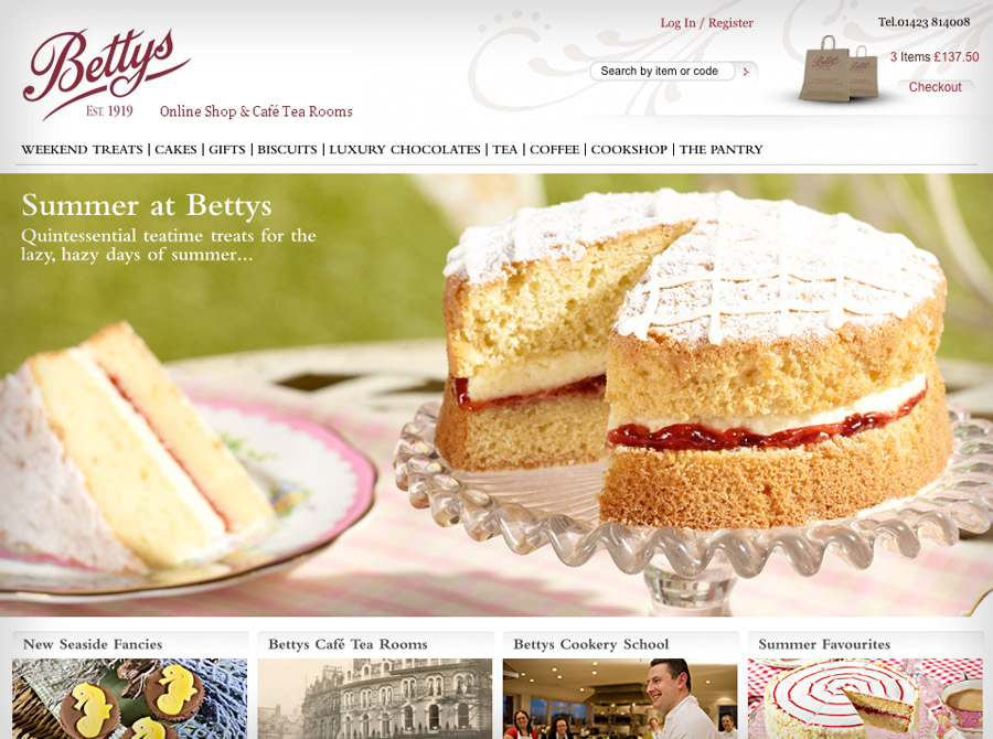 Betty's E-commerce