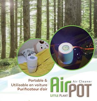 EUKOR AirPOT Purificateur d'air