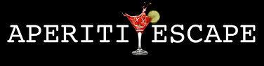 official logo aperitive escape negativo.