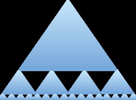 Las pirámides dentro de la organización.