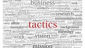 Tira a la basura el plan y la estrategia que tenías. La clave de hoy son las tácticas.