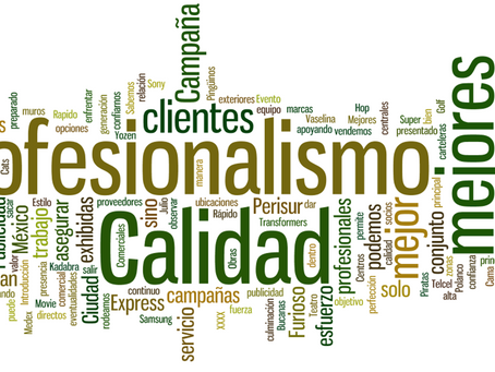 Profesionalismo + Promoción = Prestigio