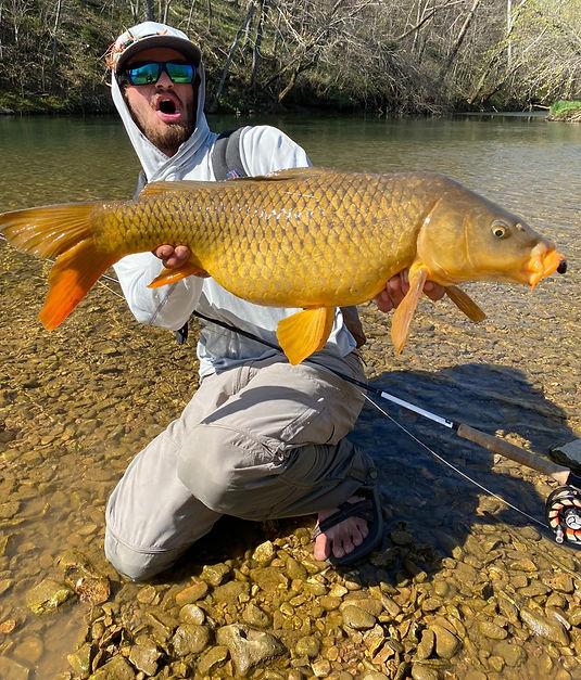 Jake Flood J Fly fly fishing Arkansas