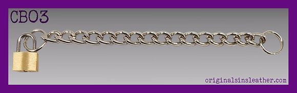 Padlock Chain Wristband