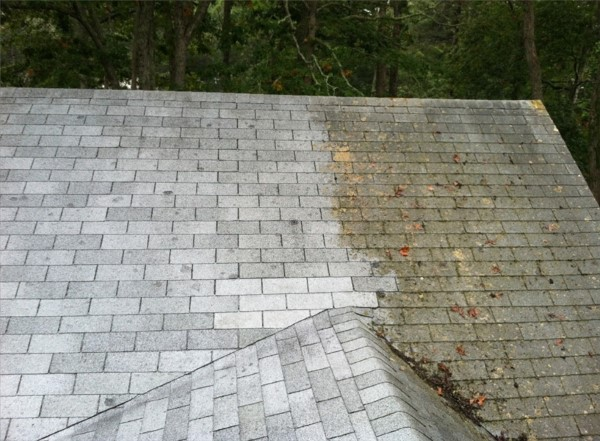 Power Washing Roofs