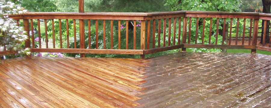 Power Washing Decks & Fences