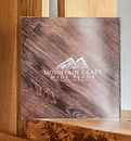 Product and company brochure, Mountain Craft Wide Plank wood flooring.