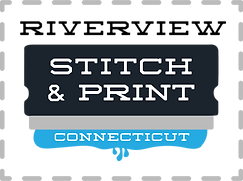 Riverview Stitch & Print. Embroidred and screen printed apparel.
