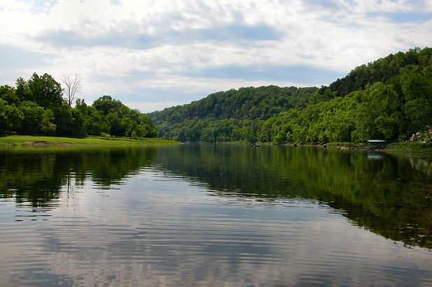 White River below Beaver Dam, Arkansas.