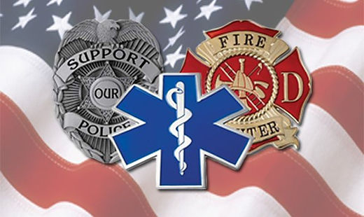 Support your fir, plice, EMT departments with clothing from Support Your Local New Jersey.
