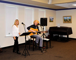 Red & Yellow Music performing for community centers, healthcare residents, libraries and special events, Simsbury, CT, USA.