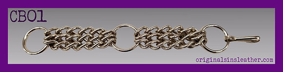 Three Chain Wristband