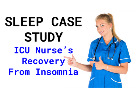 Falling Off Her Feet: One Nurse's Recovery From Insomnia