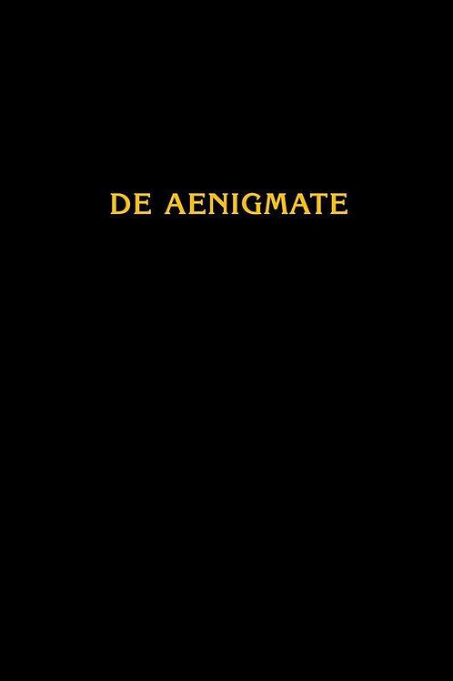«De Aenigmate / О Тайне»