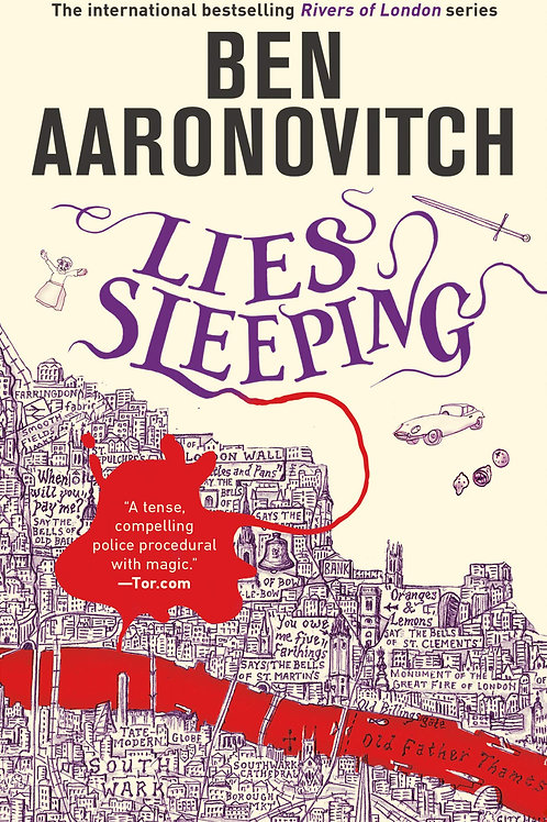 Ben Aaronovitch «Lies Sleeping»