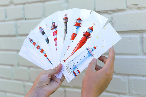 Набор открыток «Маяки Ленинградской области»