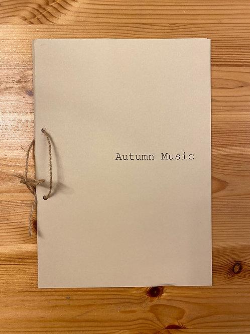 Сборник «Autumn music» (ноты)