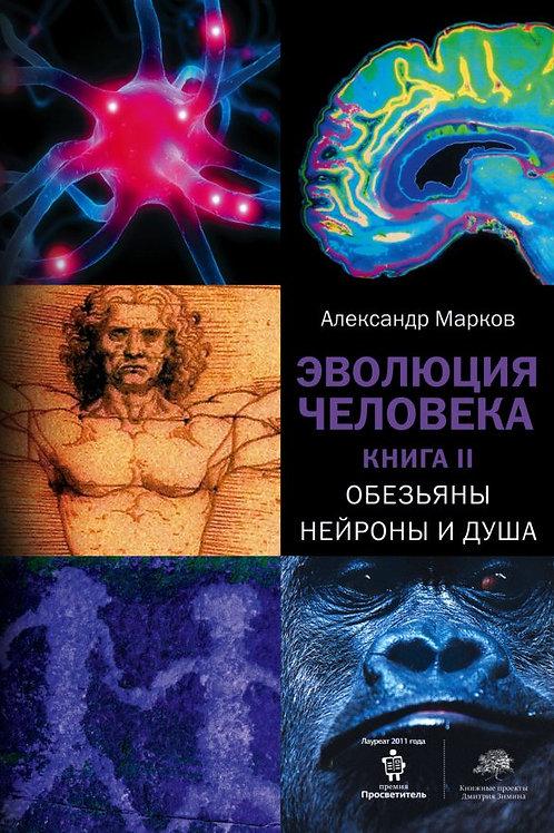 Александр Марков «Эволюция человека. Книга II. Обезьяны, нейроны и душа»