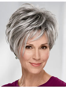 fashion_older_ladies_short_grey_hair_wig