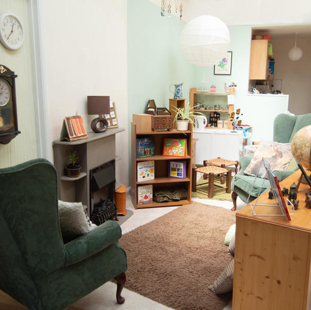 Toddler Room - Book Area