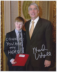 A follow-up photo from Senator Mark Udal