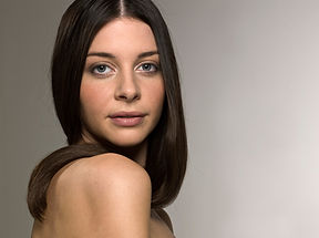 Dark Haired Model