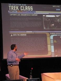 Professor Rotolo discusses Trek Class